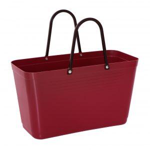 Väska Hinza Stor Vinröd – Green Plastic