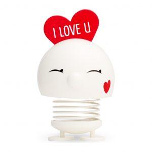 Large Bimble Love White 13 cm