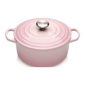 Rund Gryta 24 Shell Pink